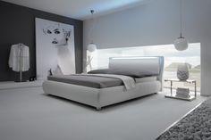 Bett HASENA DELUXE Belluno Stomp Odeon Bettgestell, Doppelbett - Wunderschöne Schlafzimmermöbel