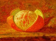 Still LIfe of an Orange, Saint Augustine, FL, Frank Shapleigh Orange You Glad, Arts And Entertainment, Still Life, Auction, Gallery, Hamilton, Wordpress, Van, Paintings