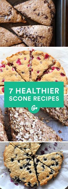 Vegan, Paleo, or gluten-free? This list has options for everyone. #healthy #scone #recipes http://greatist.com/eat/healthy-scone-recipes