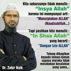 zakir naik said. Religious Quotes, Islamic Quotes, Reminder Quotes, Islam Muslim, Quran, Spirituality, Knowledge, Advice, Mood