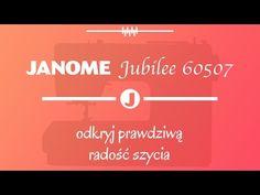 Mocna i uniwersalna maszyna do szycia Janome jubilee 60507
