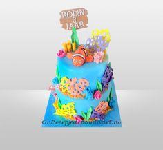 Kindertaart Finding Nemo