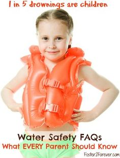 Water Safety -- how EVERY parent can keep their child from risk if accidental drowning.   Do you know many kids that 1 adult should supervise?
