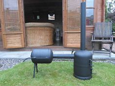 using a wood stove for a bbq - Google Search