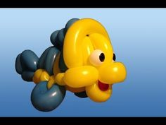 ▶ Mermaid's Friend Fish Balloon Animal Tutorial (Balloon Twisting and Modeling #20) - YouTube