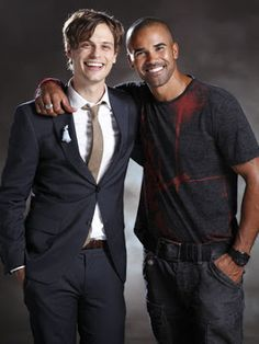 Two of the reasons I love Criminal Minds...