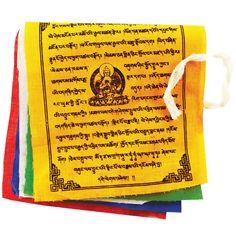 Prayer Flag TNP Buddha, Small - Tibet Collection