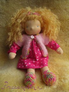 "Alice - 11"" Waldorf Doll :: The Enchanted Toybox In-stock Store"
