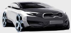 BMW Car Design Sketch, Car Sketch, Exterior Rendering, Exterior Design, Sketch Inspiration, Design Inspiration, Sketch Free, Render Design, Concept Draw