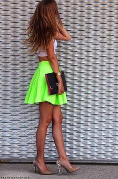 Summer Bright Summer Shine!  -Trend snake skin heels