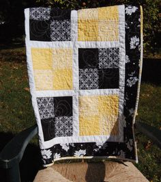 Quilt Blocks For Beginners | pieced the back and placed a smaller four square block in the center ...