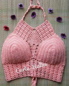 Meu prediletoamo muito e essa cor então nem se fala☺☀ #vemverao #crochet #modafeminina #praias #beach #cropeds #salmon #handmade #girlswhokissgirls #insta #semprecirculo #bikini #nice #styled