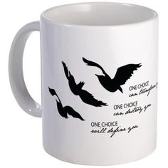 Be brave, Initiates. Contents within this mug may be hot!