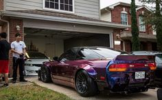 #Nissan #Silvia_S13 #240sx #Modified #WideBody_Flares #Slammed #Stance