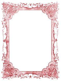 *The Graphics Fairy LLC*Free Vintage Clip Art - Romantic Frames - Christmas Colors Clip Art Vintage, Vintage Frames, Vintage Prints, Vintage Graphic, Vintage Stuff, Vintage Green, Graphics Fairy, Victorian Frame, Victorian Corset