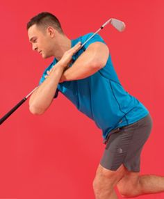 Golf Swing Fitness Friday: 5 Exercises Modified for Golfers - Golf Digest - Here are five modified exercises you can experiment with and what the wrinkle in technique can do for your game. Fashion Male, Golf Fashion, Golf 2, Play Golf, Golf Ball, Disc Golf, Friday Workout, Fitness Friday, The Walking Dead