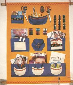 Mis revistas de manualidades: organizadores para la costura