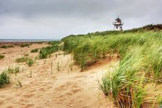 Covehead Lighthouse, Prince Edward Island. I want to go there and visit Green Gables. :)