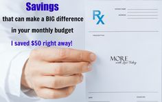 I love to save money whenever I can. To save on my prescriptions, I use my…