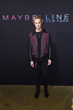 Model Neels Visser attends the Maybelline New York NYFW Kick-Off Party on September 2016 in New York City. Get premium, high resolution news photos at Getty Images Neels Visser, September 8, Eye Color, Maybelline, My Friend, New York City, Kicks, Bomber Jacket, News