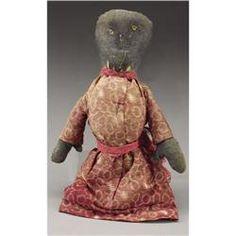 civil war ara dolls | Civil War Period Corn-cob Slave Doll