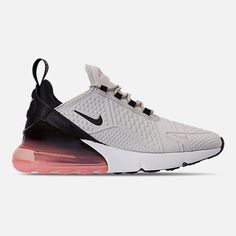 4b554b37c68d Right view of Women s Nike Air Max 270 SE Casual Shoes in Light Bone Black