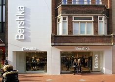 Bershka Eindhoven - Solid Surface Krion gevelbekleding