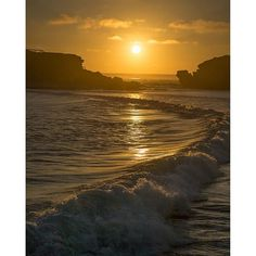 Just going through some older shots. Now that we can post full frame shots I'm looking over a lot of older work. This is #warrnambool at #sunset on the #greatoceanroad #seegor #visitgreatoceanroad #beach #beautiful #sky #landscape #seascape #seascapes #victoria #australia by arlow_photography