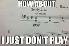 Ha, ha, ha. Music jokes.