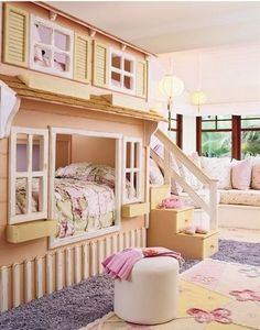 Kids playhouse, if I ever have a specific granny's house that has extra space! I don't care how old my granddaughters are they would love it!