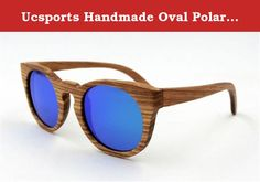 Ucsports Handmade Oval Polarized Sunglasses With Zebrano Wooden Frame (Green, Brown). 100% Brand New & High quality. Please allow slight (0.1-0.2cm/g) manual measurement deviation for the data. If you have any questions, feel free to contact us, we promise to reply you within 24 hours and offer you our best services.