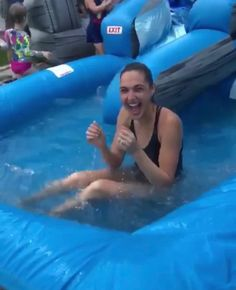 Gal Gadot on the 4th of July, 2018