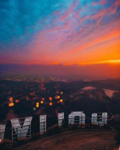 "Sensuality Is My Desire — j-k-i-ng: ""Hollywood Sign"" by California Dreamin', Los Angeles California, Beautiful Sunset, Beautiful World, Los Angeles Wallpaper, Los Angeles Travel, Hollywood Sign, Hollywood Hills, City Aesthetic"