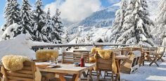 Insiders guide to Verbier: Warren Smith - SnowsBest Places To Travel, Places To See, Chalet Girl, Snow Resorts, Terrace Restaurant, Apres Ski, Construction, Stunning View, Architecture