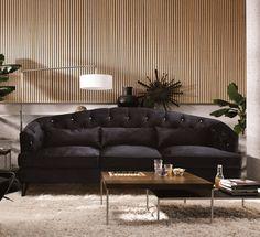 Ideal Wohnzimmer in grau und braun