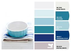 """Paint colors from Chip It! by Sherwin-Williams """"SPATIAL WHITE"""""""