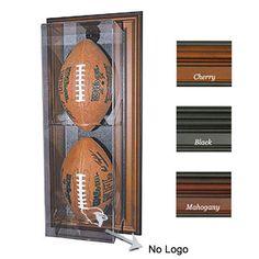 Case-Up Football Display Case (No Logo) (Vertical)