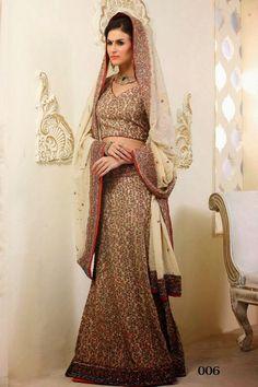 Designer Ethnic Panetar Style Bridal Lehenga Choli | Saris and Things