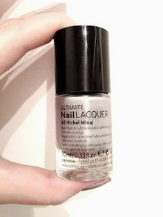 "Catrice nail polish ""Nickel Minaj"""