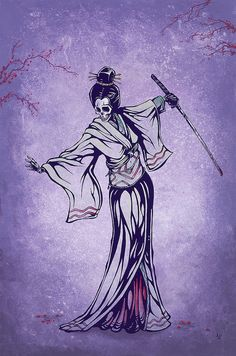 Rise of the Geisha by David Lozeau by David Lozeau, via Flickr