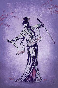 Rise of the Geisha by David Lozeau by David Lozeau, via Flickr