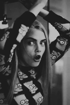 Embrace Your Weirdness-Cara Delevingne