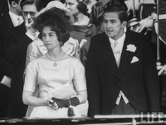 mistercew:  Princess Sophia and Crown Prince Constantine of Greece