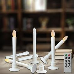Flameless Candles With Remote Costco Led Flickering Window Candles 4Pack Battery Operated 6Hour Timer