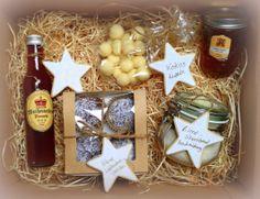 Apfelgelee mit Zimt  Kokoskugeln  Lebkuchentörtchen  Weihnachtspunsch á la Petterson und Findus  Backmischung für Zimt-Shortbread