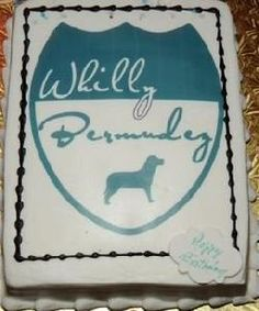I want a cake with *my* name on it!