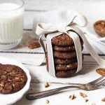 RECEPT+|+ČOKOLÁDOVÉ+COOKIES Brownies, Pudding, Cookies, Food, Crack Crackers, Biscuits, Meal, Cookie Recipes, Eten