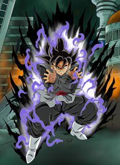 Black Goku by ChibiDamZ.deviantart.com on @DeviantArt