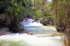 http://www.vietnamitasenmadrid.com/laos/cataratas-kuang-si.html  Cataratas Kuang Si falls