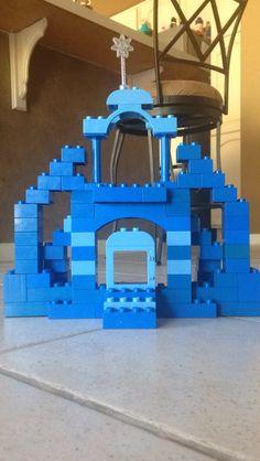 Lego duplo elsa castle
